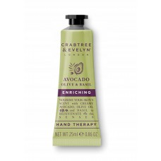 CRABTREE & EVELYN HAND THERAPY AVOCADO OLIVE 25g