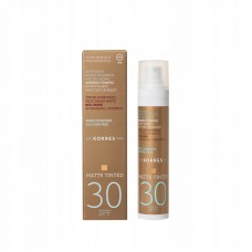 KORRES SUNSCREEN RED GRAPE MATTE TINTED SPF30 50ml
