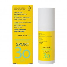 KORRES SPORT SUNSCREEN FACE CREAM CITRUS SPF30 50ml