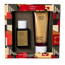 KORRES VANILLA FREESIA LYCHEE EDT 50ml + BODY MILK 125ml