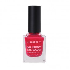 KORRES GEL EFFECT NAIL COLOUR LAKIER 22 JUICY FUCHSIA