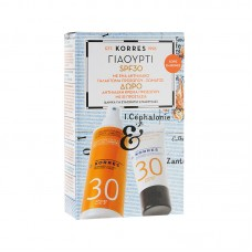 KORRES SET DO OPALANIA Z JOGURTEM SPF30 50ml + 150ml