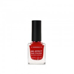 KORRES GEL EFFECT NAIL COLOUR LAKIER 53 ROYAL RED
