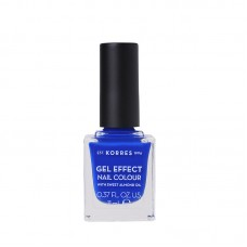 KORRES GEL EFFECT NAIL COLOUR LAKIER 86 OCEAN BLUE