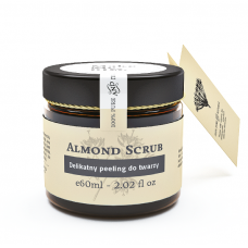 MAKE ME BIO ALMOND SCRUB PEELING DO TWARZY 60ml