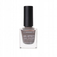KORRES GEL EFFECT NAIL COLOUR LAKIER 70 HOLOGRAPHIC ASH