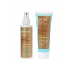 KORRES EMULSJA DO OPALANIA SPF50 150ml + AFTER SUN 125ml