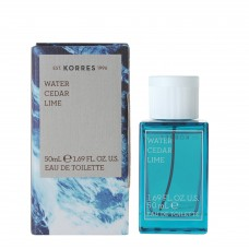 KORRES WATER CEDAR LIME EDT 50ml