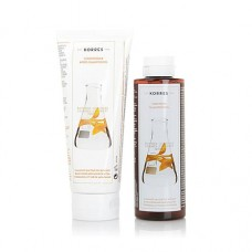 Korres Gift Set Shampoo + Conditioner for Colored Hair