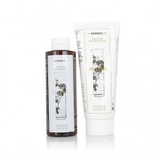 Korres Gift Set Crete Shampoo + Conditioner for Normal Hair