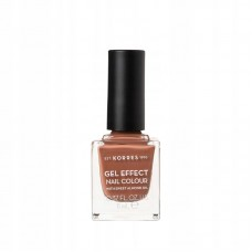 KORRES GEL EFFECT NAIL COLOUR 37 FROZEN MOCCA