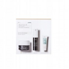 KORRES BLACK PINE 3D GIFT SET DAY CREAM DRY SKIN + EYE CREAM