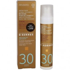 KORRES ANTISPOT SUNSCREEN FACE CREAM WITH RED GRAPE TINTED SPF30 50ml