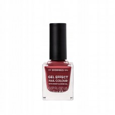 KORRES GEL EFFECT NAIL COLOUR 77 VINTAGE BORDEAUX