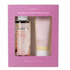 KORRES GIFT SET BELLFLOWER BODY MILK 125ml & SHOWER GEL 250ml