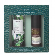 KORRES GIFT SET BORAGE ANTI-SHINE CREAM + SHOWER GEL
