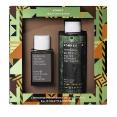 KORRES GIFT SET MOUNTAIN PEPPER EDT 50ml + SHOWER GEL 250ml