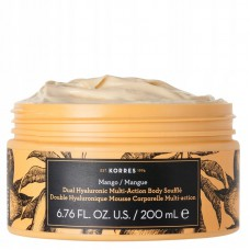 KORRES DUAL HYALURONIC SOUFFLE BODY CREAM MANGO 200ml