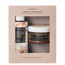 KORRES GIFT SET YOGURT ALMOND ANTI-WRINKEL BODY BUTTER & SHOWER GEL
