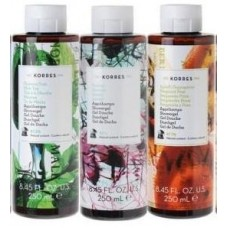 KORRES SET SHOWER GEL YOUR CHOICE 3x250ml