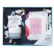 KORRES SET ALMOND BLOSSOM 40ml + FACE WIPES MIXED SKIN