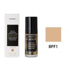 KORRES BLACK LIFTING FIRMING BRIGHTENING FOUNDATION BPF1 30ml