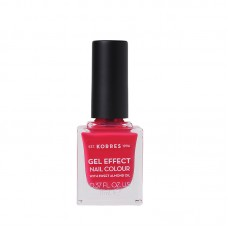KORRES GEL EFFECT NAIL COLOUR 22 JUICY FUCHSIA