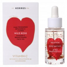 KORRES WILD ROSE VITAMIN C ACTIVE BRIGHTENING FACE OIL 30ml