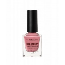 KORRES GEL EFFECT NAIL COLOUR 21 BUBBLEGUM POP