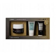 KORRES BLACK PINE 3D GIFT SET DAY CREAM + NIGHT CREAM DRY SKIN