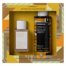 KORRES WHITE TEA FREESIA BERGAMOT EDT 50ml