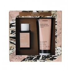 KORRES SET BLACK SUGAR EDT 50ml + BODY MILK 125ml
