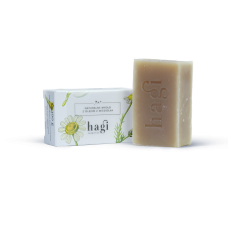 HAGI NATURAL SOAP WITH EVENING PRIMEROSE OIL 100g