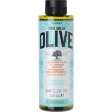 Korres Pure Greek Olive Radiance Shampoo for Normal Hair 250ml