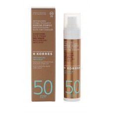 KORRES SUNSCREEN FACE CREAM RED GRAPE SPF50 50ml