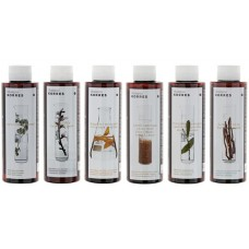KORRES SET SHAMPOO YOUR CHOICE 3x 250ml