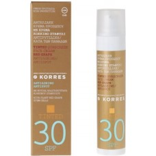 KORRES SUNSCREEN FACE CREAM RED GRAPE SPF30 TINTED 50ml