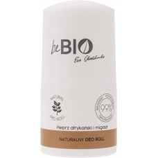 beBIO EWA CHODAKOWSKA DEO ROLL-ON AFRICAN PEPPER ALMOND 50ml