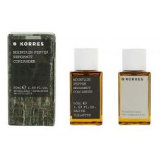 KORRES MOUNTAIN PEPPER BERGAMOT EDT 50ml